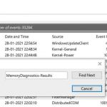 How to See Windows Memory Diagnostic Results