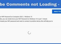 How to fix youtube comments not loading